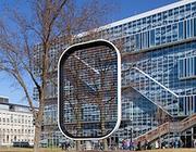 Il prototipo di Ewicon di fronte alla facoltà di ingegneria elettronica dell'Università di Delft (ewi.tudelft.nl)